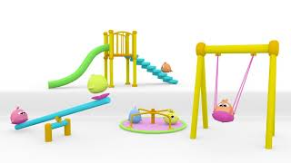 Giligilis Children's Park Song | Kids Songs | Cartoons & Baby Songs by Lolipapi | NEW