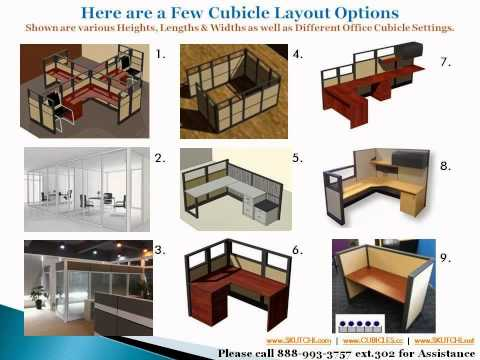 How To Order Cubicles, Glass Modular Offices, & Panels Systems