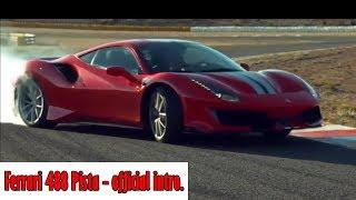 Ferrari 488 Pista - official intro