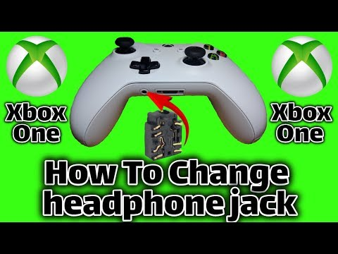 Fix headphone jack on xbox one controller