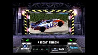 PlayStation Underground Jampack Summer 2K Gameplay Part 3 - NASCAR Rumble
