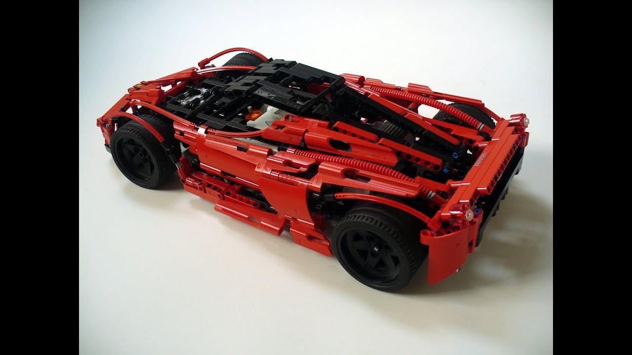 LEGO Mindstorms NXT Ferrari LaFerrari - YouTube