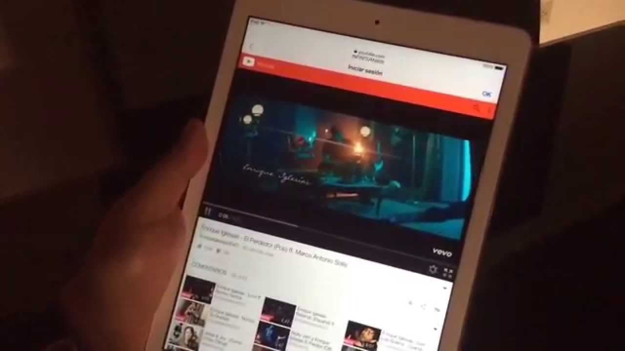 youtube capture para ipad