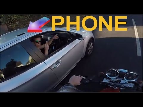 Motorcyclist Gets Revenge When Handing Back Driver S Dropped Wallet Hd Youtube