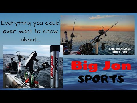 BIG JON SPORTS-Everything You Want To Know-Boat Rigging-Downriggers-Rod Holders-And MORE