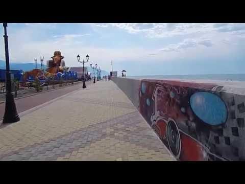 пляж отеля Бархатные сезоны, Адлер 2015