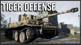 OBLITERATING AN AMERICAN ADVANCE WITH A TIGER TANK | Hell Let Loose