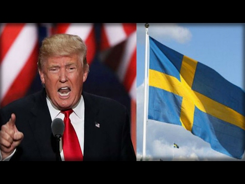 BREAKING: WIKILEAKS JUST EXPOSED A HUGE SCANDAL IN THE SWEDISH GOVERNMENT AND PROVED TRUMP RIGHT!!