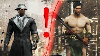 Что будет если Серебряный плащ встретится с Грогнак-варваром Квест-Мод Fallout 4