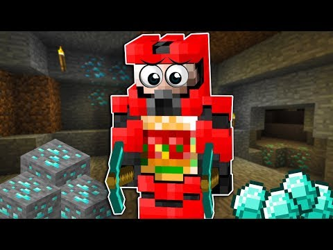 OB Found My Prank & Hunting for Diamonds in a Mineshaft! - Minecraft Multiplayer Gameplay