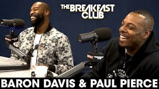 Baron Davis & Paul Pierce On NBA Playoffs, Legacies, Kobe vs LeBron + More