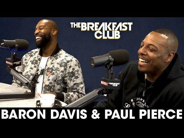 Baron Davis & Paul Pierce On NBA Playoffs, Legacies, Kobe vs LeBron + More