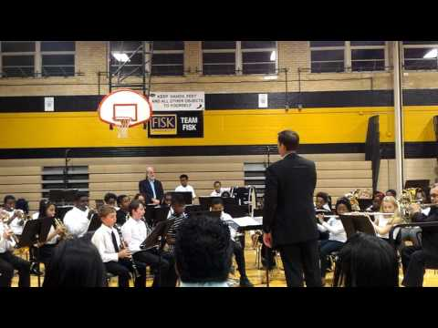 Shmuel's band concert Brittany Woods Middle School 2016 #5
