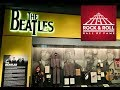 The Beatles Exhibit at the Rock and Roll Hall of Fame in Cleveland Ohio 2018
