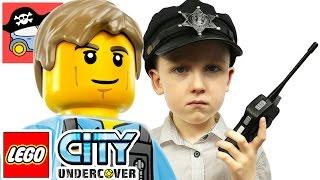 🚓 LEGO CITY UNDERCOVER #9 Лего Мобильный КОМАНДНЫЙ ЦЕНТР Жестянка Лего Сити ГТА