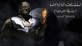 Injustice 2 : Darkseid Highest Combo Compilation