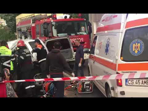 Accident Dedeman Resita
