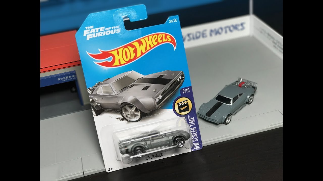 Dodge Ice Charger >> Lamley Showcase: 2017 Hot Wheels Fate of the Furious Ice Charger - YouTube