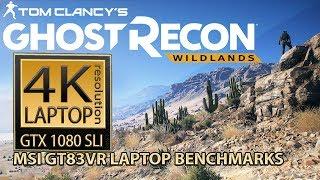 Tom Clancy's Ghost Recon  Wildlands 4K laptop - MSI GT83VR laptop 4K