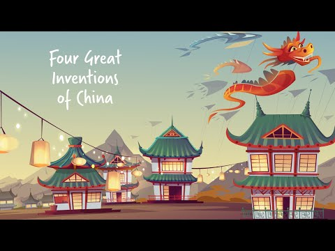 Four Great Inventions of Ancient China   Compass, Gunpowder, Paper, Wood Block Printing