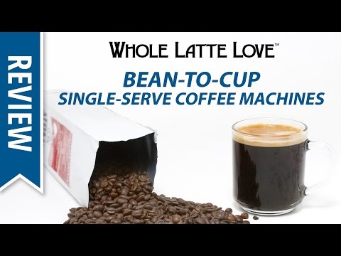 Bean To Cup Single Serve Coffee Machines Review