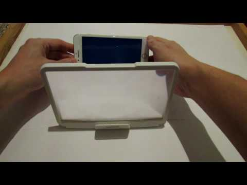 Распаковка REMAX Universal Magnifier Folding Screen HD