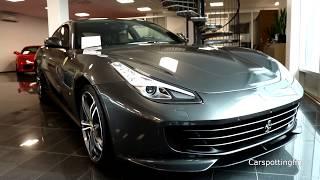 Ferrari GTC4 Lusso - Exterior, Interior & Startup