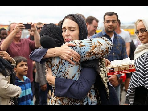 Chatting the Pictures: New Zealand PM Gives Comfort
