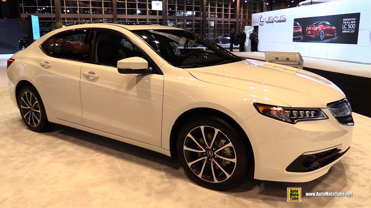 2016 Acura Tlx Sh Awd Advance Exterior And Interior Walkaround Chicago Auto Show