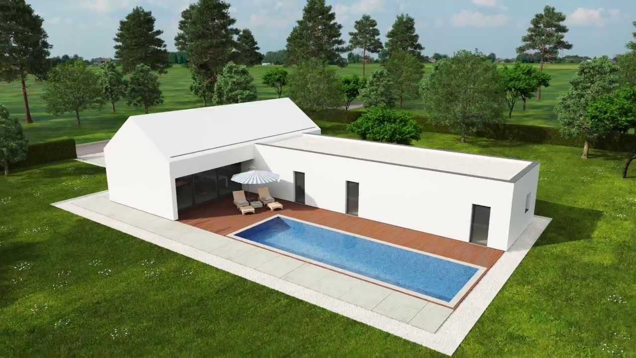 Casa de sonho re max simples e funcional youtube - Fotos de casas en forma de l ...