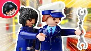 KARLCHEN KNACK #57 - Toni & Martina auf Verbrecher Jagd - Playmobil Polizei Film