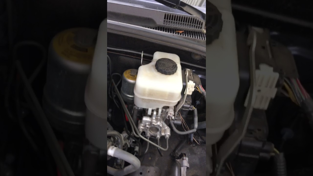 Toyota 4runner Abs Or Master Cylinder Scratching Squeaking