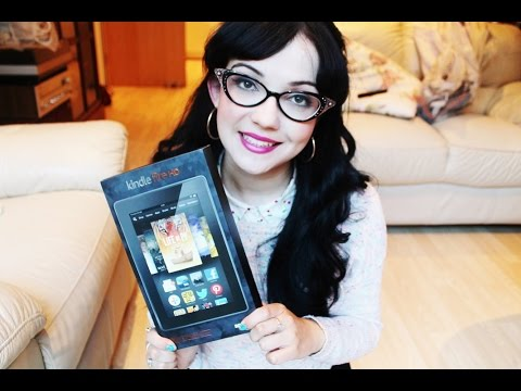 Amazon Kindle Fire HD:  Review and Unboxing!