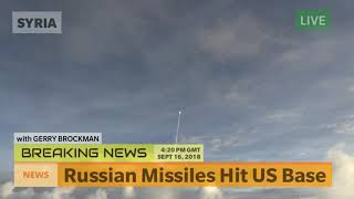 Russian Missiles Hit US Base - Syria War Breaking News