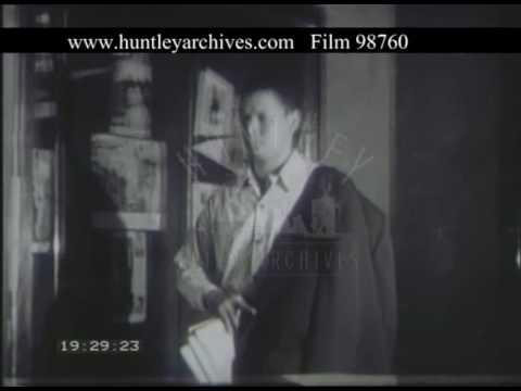 Working In Caracas Venezuela, 1950s - Film 98760