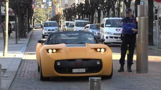 Protoscar LAMPO2 Electric Sports car Videos
