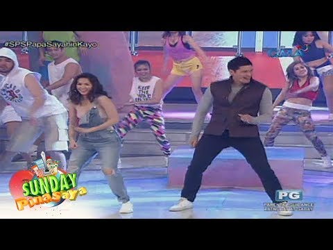 Sunday PinaSaya: Marian Rivera at Dingdong Dantes, nag-showdown sa Budots! - 동영상