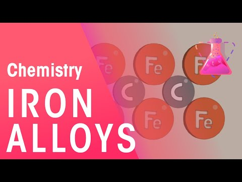 Iron Alloys | Chemistry for All | The Fuse School