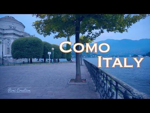Como Lake | Lago di Como | The Beautiful Como City | Como, Italy