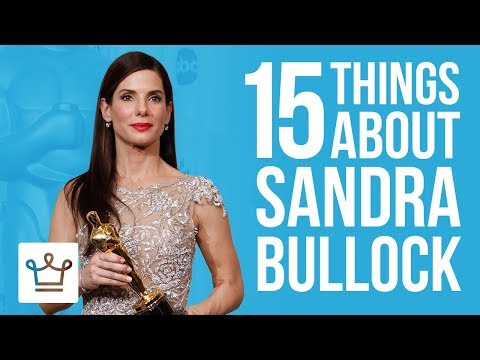 15 Things You Didn't Know About Sandra Bullock