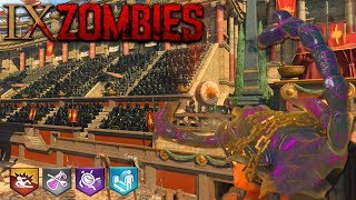 BLACK OPS 4 ZOMBIES - IX MAIN EASTER EGG GAMEPLAY HUNT (Black Ops 4 Gameplay Walkthrough)