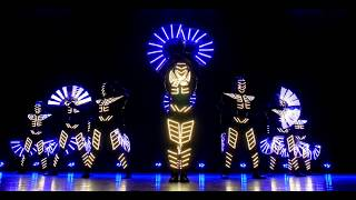 Show Jokers новый стиль светового шоу / absolutely new style of the light show 8 performers