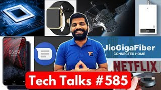 Tech Talks #585 Jio GigaFiber Preview Offer, Google Speaker, NASA Solar Probe, Nokia 6.1 Plus