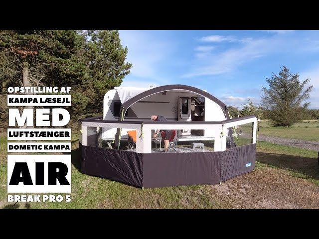 Dometic Kampa Air Break Pro 5 Læsejl (Reklame)