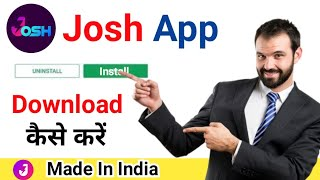 Josh App Kaise Download Kare | Hot To Download Josh App | Josh App Kaise Use Kare | Earning App