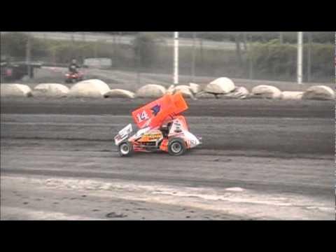 Tony Stewart Black Rock Speedway New Track Record
