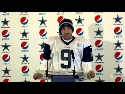 tony-romo-post-match-press-conference,-his-recovery-day-by-day