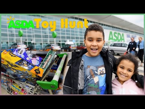 Toy Hunt At Asda Supermarket Tsum Tsum Hatchimals Play Doh