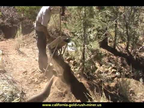 Gold Prospecting - Drywashing @ San Bernardino- Gold Nuggets