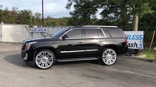 2015 Cadillac Escalade Short-Sleeve on 26 Platinum Replica's
